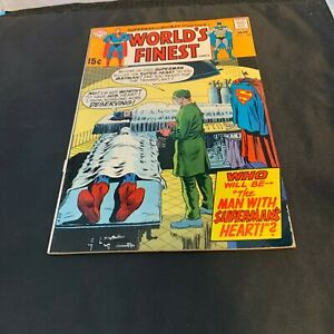 DC Superman World's Finest #189 Superman Batman Nov 1969 Craft Collector Recycle