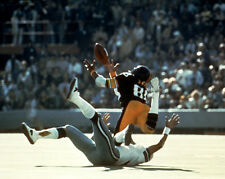 1976 Pittsburgh Steelers LYNN SWANN Super Bowl X 8x10 Photo Diving Catch Print