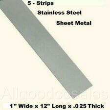 304 General Purpose Plate Mill Stock 24 Length 1//4 X 2 Stainless Steel Flat Bar 0.25 inch Thick