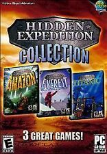 Hidden Expeditions 3 Pack - Titanic,  Everest, Amazon - PC, Good Video Games