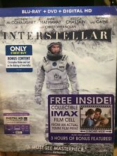 Interstellar Blu-ray/DVD/Digital BEST BUY w/ EXCLUSIVE CONTENT (No Film Cell)