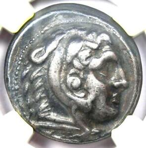 Alexander the Great III AR Tetradrachm Coin 336-323 BC - Certified NGC VF