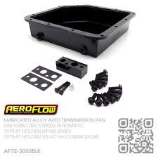 "AEROFLOW FAB ALLOY 3"" DEEP AUTO PAN TURBO 350 [HOLDEN HZ-WB VB-VC-VH COMMODORE]B"
