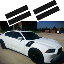 Glossy Hood to Fender Slash Decal Stripe Double Stripes For Dodge Ram Ford Chevy