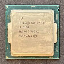 Intel Core I3-6100 3.7 GHz Dual-Core (BX80662I36100) Processor