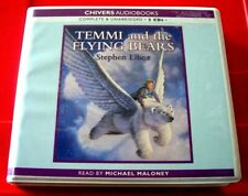 Stephen Elboz Temmi And The Flying Bears 2-CD UNAB Audio Michael Maloney Fantasy
