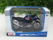 Maisto 1/18 Special Edition Diecast Motorcycle BMW R 1200 GS 2017 Rallye Blue