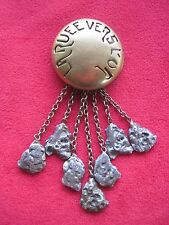 Original 1925 Promotional Jewelry For Charles Chaplin'S The Gold Rush In France