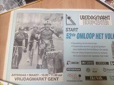 Cyclisme, ciclismo, radsport, wielrennen, cycling, POSTER OMLOOP HET VOLK
