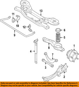 MAZDA OEM 04-13 3 Stabilizer Sway Bar-Rear-Link BP4K28170H