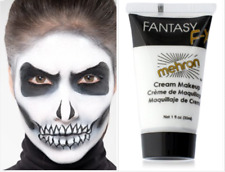 Mehron Makeup Fantasy F/X Water Based Face Body Paint, WHITE Halloween makeup