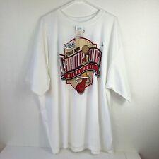 Miami Heat 2006 NBA Champions White Hot Men's Adidas T-shirt Sz #2XL #X10