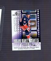 2002-03 Upper Deck MVP Highlight Nights Eric Lindros #HN5 HOF New York Rangers