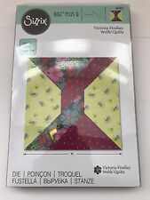 "SIZZIX BIGZ Plus 661651~TWIST 9"" BLOCK by VICTORIA FINDLAY WOLFE~QUILTING~FPP"