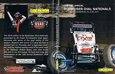 USAC Wingless Sprints DVD From Perris Auto Speedway 11-6+7+8-2014 Oval Nationals