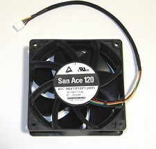 Sanyo Denki 120mm x 38mm Ultra High Airflow Fan 224 CFM 4 Pin PWM 9GV1212P1J091