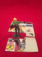 GI JOE 1987 PSYCHE OUT WITH FILE CARD