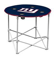 NFL NEW YORK GIANTS Logo Brand - Portable Giants Table - GIANTS TAILGATE TABLE