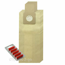 5 x U-2E U20E Type Dust Bags for PANASONIC Vacuum Cleaner Hoover + Fresheners