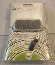 MICROSOFT XBOX 360 OFFICIAL LIVE MESSENGER KIT BRAND NEW Chatpad & Wired Headset