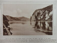 1915 THE IRON GATE OF THE DANUBE EISERNES TOR WHERE GERMANS CROSSED WWI WW1