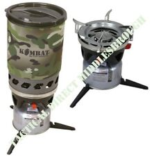FAST BOIL WINDPROOF CYCLONE STOVE ARMY CAMPING FIELD GAS COOKER COOKING MTP CAMO