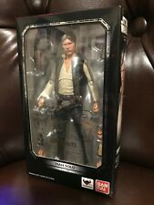 S.H. Figuarts Star Wars Han Solo ANH 6in Figure, MINT CONDITION