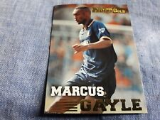 MARCUS GAYLE Trading card MERLIN'S PREMIER GOLD 1996/97