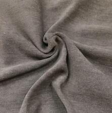 """Gray Polyester Velvet Fire Treated Fabric Upholstery Drapery Sold by Yard 54"""" w"""