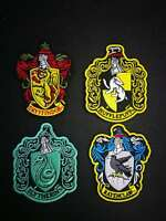 Harry Potter House of Gryffindor Crest Iron On Patch Embroidered Applique