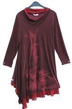 LA MOUETTE TRAUMHAFT Kleid Dress Robe Vestido Tunika Tunic L 44 46 Lagenlook **