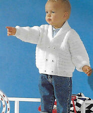 Toddler cardigan knitting pattern 12/18mths - 2/3 years 4 ply 170