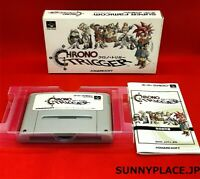 CHRONO TRIGGER SFC with BOX  VERY GOOD CONDITION JAPAN Import