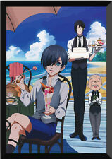 Black Butler Ciel Phantomhive Sebastian·Michaelis Scroll Poster Wall 40*60 cm