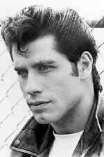 John Travolta As Danny Zuko Slicked Back Hair In Grease 11x17 Mini Poster