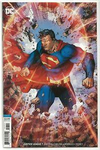 Justice League #7 Jim Lee Variant  D.C. Comics