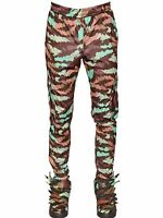 Adidas Originals ObyO Jeremy Scott Fisherman Cartoon Camo Cargo Track Pants COOL