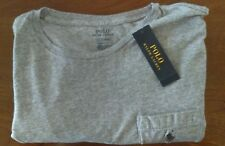 New With Tag Polo Ralph Lauren Pocket T-shirt Size Large in Dark Vintage Gray