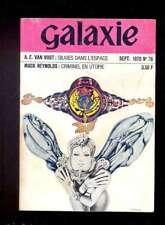 Galaxie 76 septembre 1970 OPTA Reynolds Van Vogt Delany Young Gunn