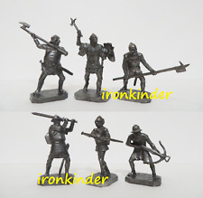 Hussite Wars: German Knights Metal Toy collection soldier 40mm