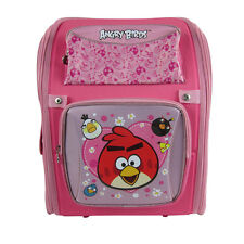 Brand New Angry Birds Pink School Bag Backpack Back Pack 360-Degree