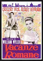 Plakat Vermietungen Romane Audrey Hepburn Gregory Peck Piaggio Vespa Wyler E13