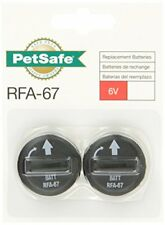 NEW PetSafe 6 Volt Lithium Battery Pack of 6 FREE SHIPPING