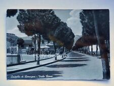 CIVITELLA DI ROMAGNA Viale Roma mercatino Forlì Cesena vecchia cartolina