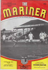 Programme / Programma Grimsby Town FC v Notts County 8-01-1985 FA Cup 3rd replay