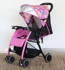 Hello Panda Buggy 715 Kinderwagen Sitz- Liegefunktion EVA Räder Stoßfest, pink