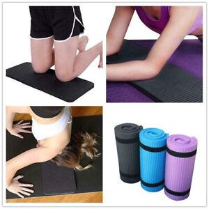 15mm Non-Slip Yoga Mat Exercise Fitness Pilates Camping Gym Meditation NBR Pad