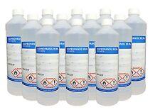 12x 1L 1000ml Isopropanol, Isopropylalkohol, IPA, 2-Propanol, 99,9% Reiniger