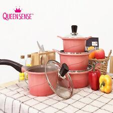 Queen Sense Ceramic Coating 4 Pots Set Pink Gradation ////