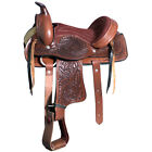 C-1-12 12 In Kids Youth Children Miniature Pony Saddle Leather Pleasure Western